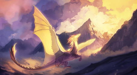 in a sea of clouds and dreams by clockbirds