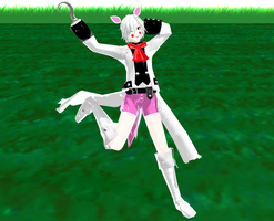 [MMD] Male Funtime Foxy (Toy Foxy) Model DL by ZexionStrife
