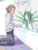 That tub ain't big enough for the two of us by General-RADIX