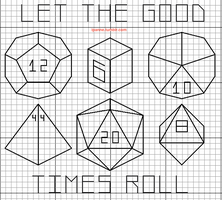 Let the good times roll pattern by lpanne