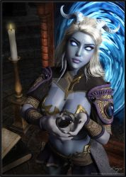 [World of Warcraft] Draenei ~ Kaiyra by Night-Eve