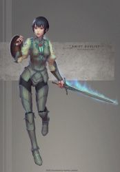 Swift duelist by Marfrey