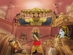 Vijayadashami - Attack on Ravana by VachalenXEON