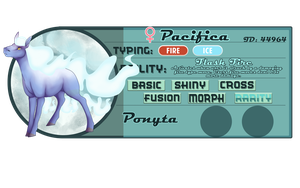 [PKMN: Reference Sheet] Pacifica by A-Someday-Dreamer