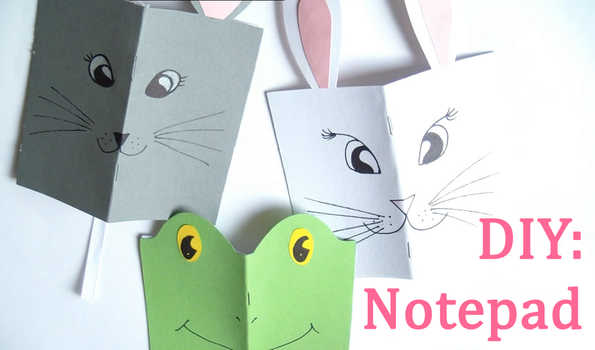 DIY: Notepad by Leviana