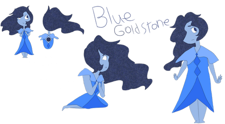 Blue goldstone by Oak-Storm