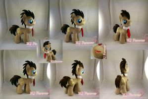 Dr Whooves plushie (my 1st stallion!  :)) FOR SALE by moggymawee