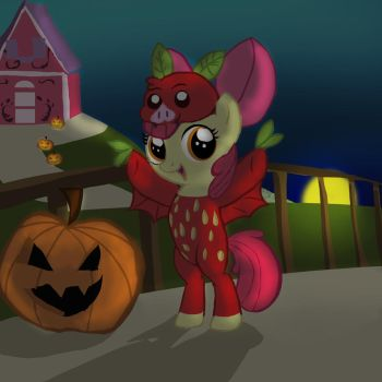 Applebloom the Fruit Bat: Contest Entery by PrismNight