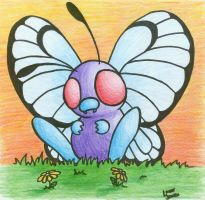 Butterfree by Red-Flare