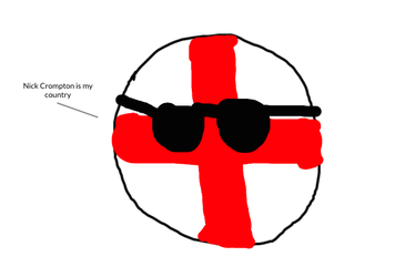 Yo it's England and my red stripes stay poppin by StrayberryFilling