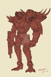 Rampage Redesign by AdmiralRusty