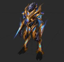 Protoss Zealot 2013 by artquest7