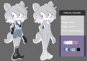 Chilia the Chinchilla Ref by miserable-flare