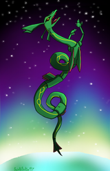 Rayquaza by SaintsSister47