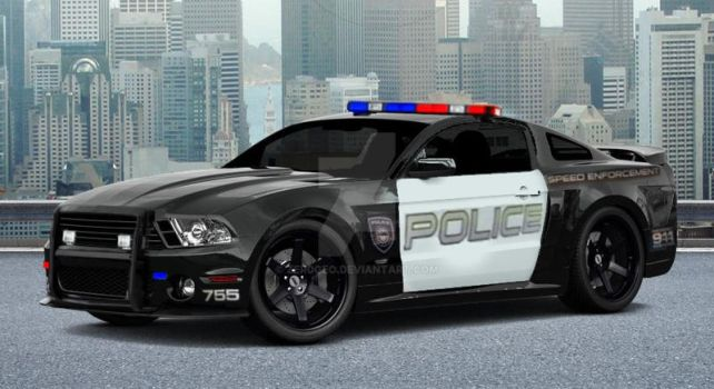 Custom Police Mustang - Revamped Barricade by ZER0GEO
