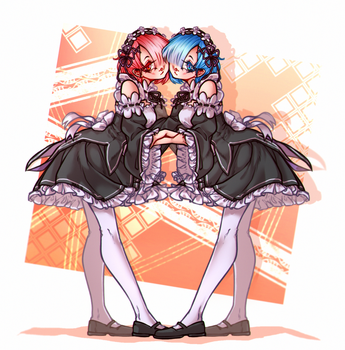 Rem and Ram by Hao-S