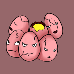 Exeggcute by MayterAy