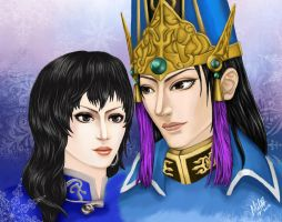 Sima Yi and Wang Yi by Grace-Zed