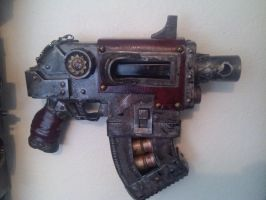 Inquisitor WIP:  Bolter 03 by Bag-of-hammers