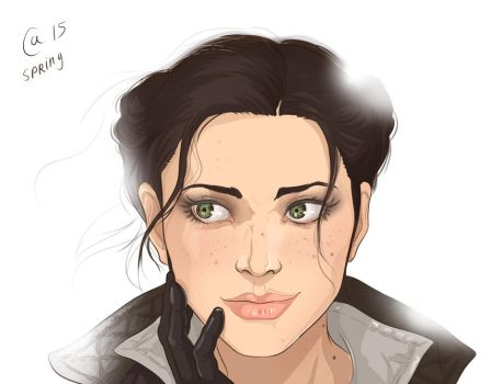 Evie Frye by Autumn-Sacura