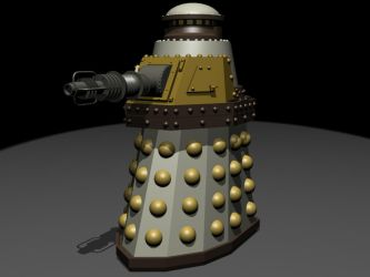 Special Weapons Dalek by EUAN-THE-ECHIDHOG
