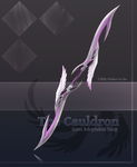 [The Cauldron] Double Sided Pai Sword- Stage 2 by furesiya