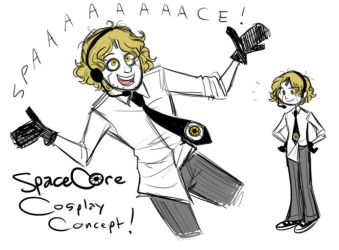 Space Core Cosplay Concept? by Inonibird