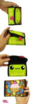 green monster wallet by Bobsmade