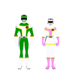 Additional Turborangers by Bhrunno