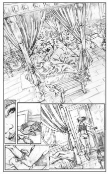 Betty Wicked Pg01 Pencils by wici