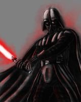 Darth Vader :speedpainting: by Lord-FSan