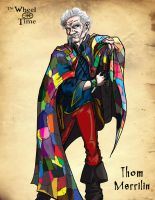 The Wheel of Time: Thom by darlinginc