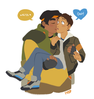 Hunk-kisses by IVDP