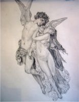 Cupid and Psyche by slarti-bartfast