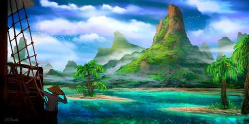 The Island by JKRoots