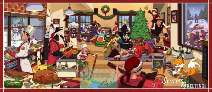 Merry Gamey Christmas by haruningster