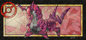 Stained Glass Scolipede POKEMON