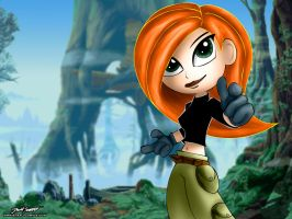 Kim Possible Wallpaper by SnafuDave