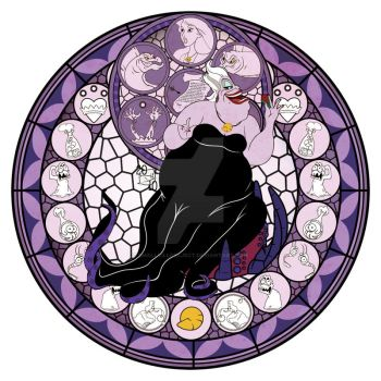 Ursula Kingdom Hearts by smallvillereject