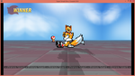 Tails Super Smash Bros Crusade test by BluethornWolf