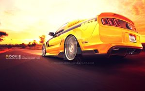 Ford Mustang Boss by rookiejeno