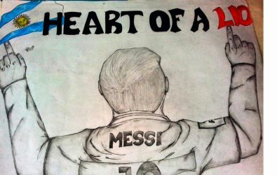 Messi by dhrubo2002