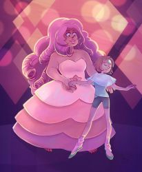Pearl and Rose by Lemna