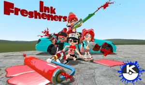 Meet the Ink Fresheners by KellenLegendary
