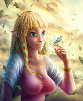 Zelda - Blessed Days by Yuqoi