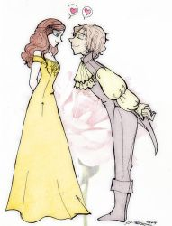 Rumple and belle by Danielle-chan