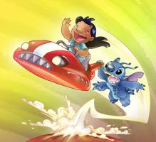 Lilo and Stich 3 Scuderi by Skudo