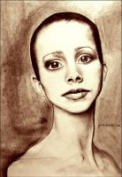 Ballerina portrait by jane-beata