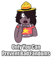 Smoky the Quartz Says by VincenttheCrow