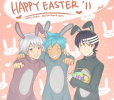 soul eater happy easter by niiki-chan
